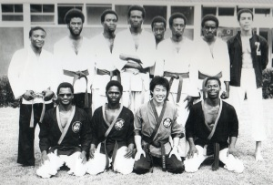 ©Simon Chilembo, 2014. Cream of Zambian Karate, 1983: UNZA
